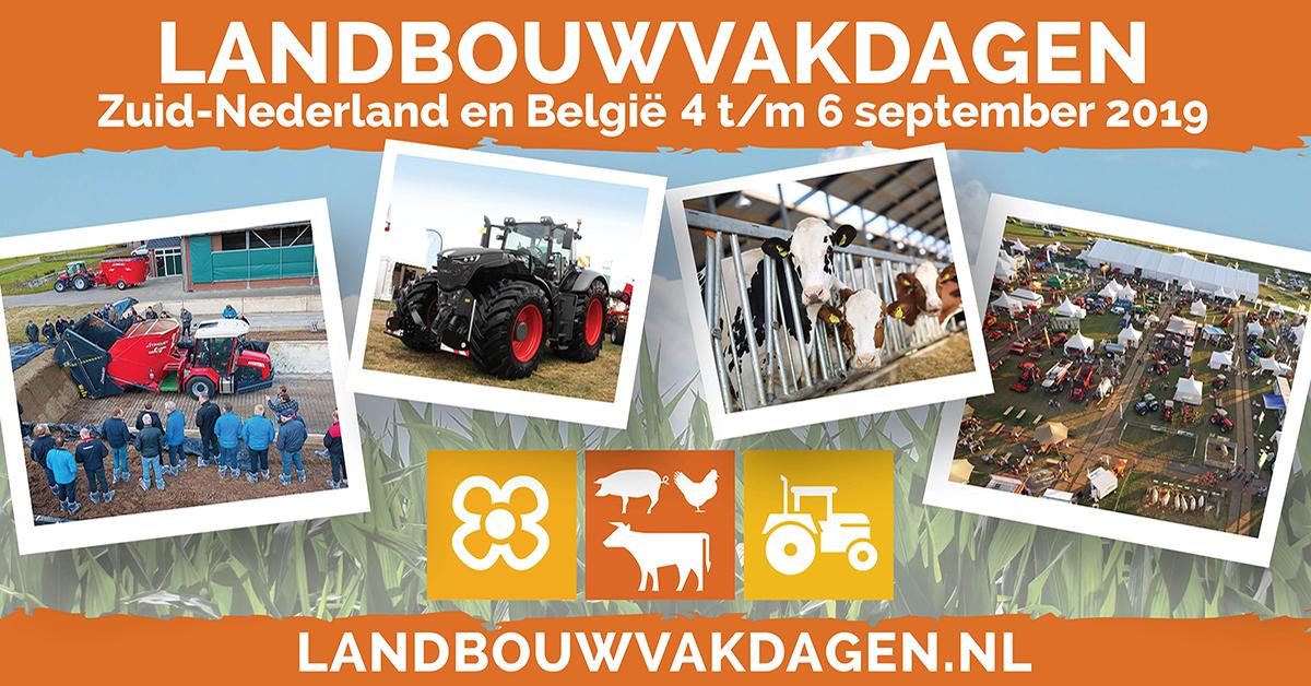Jodoco nodigt je uit op de Landbouwvakdagen voor Zuid-Nederland en België